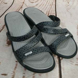 Crocs Disney Mouse Ears Swiftwater Sandals